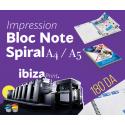 BLOC NOTE SPIRALE