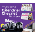CALENDRIERS CHEVALET 2020