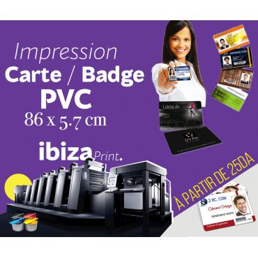 CARTES DE VISITE PVC
